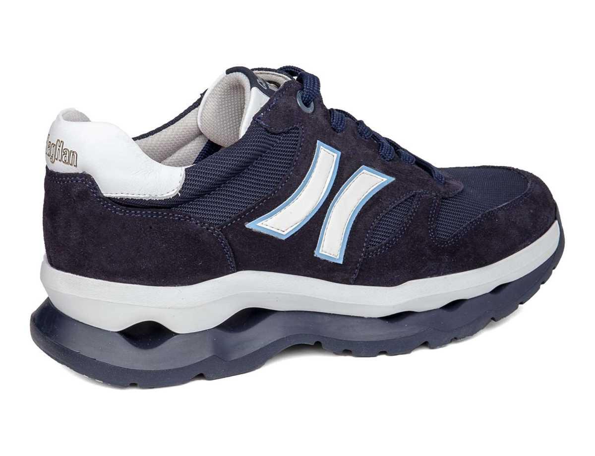 Callaghan Hombre Zapato Sport Azul