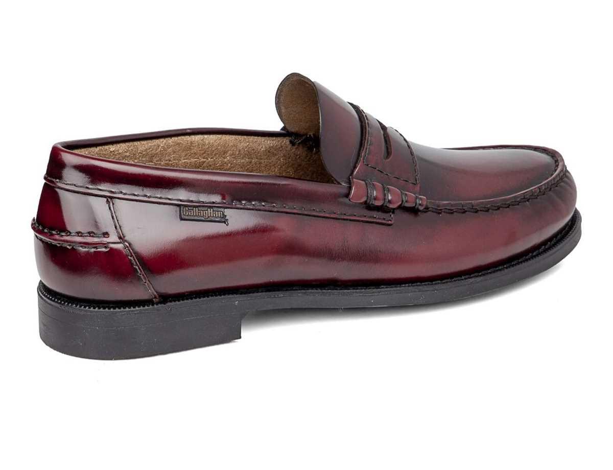 Callaghan Hombre Zapato Clasico Rojo
