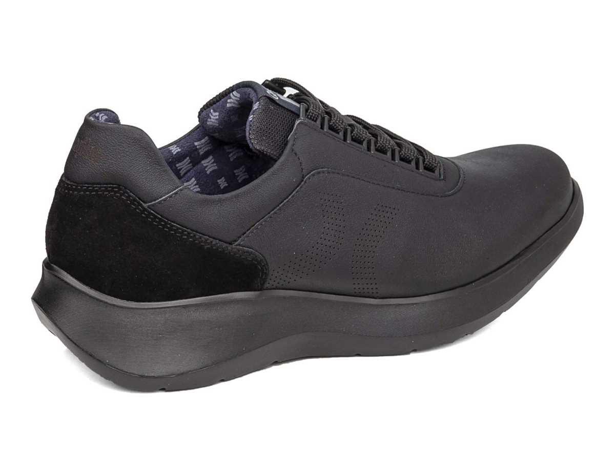 Callaghan Hombre Zapato Sneakers Negro